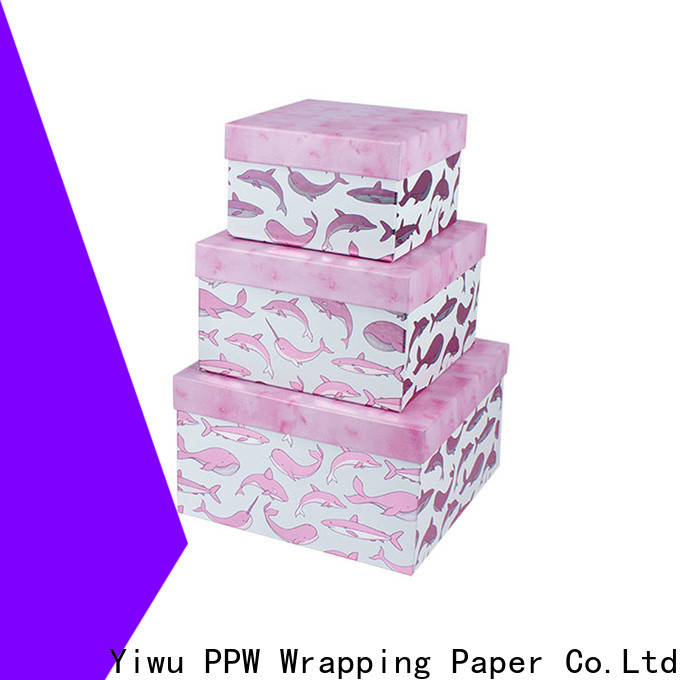 PPW cost-effective cardboard boxes for sale supplier for festival