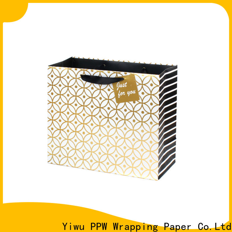 PPW quality custom gift bags wholesale for advertising