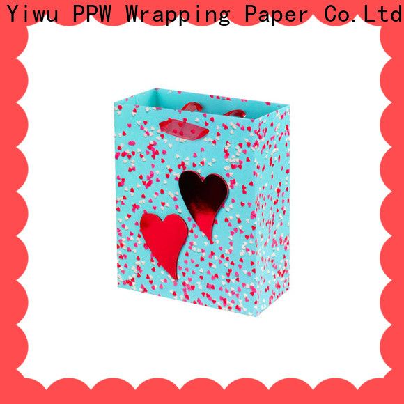 PPW personalised gift bags wholesale for wedding