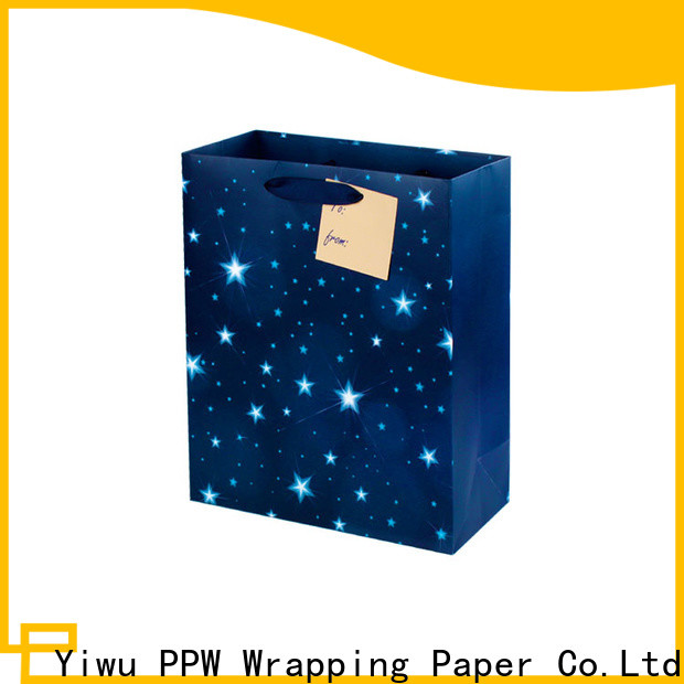 PPW professional large gift bags wholesale for advertising