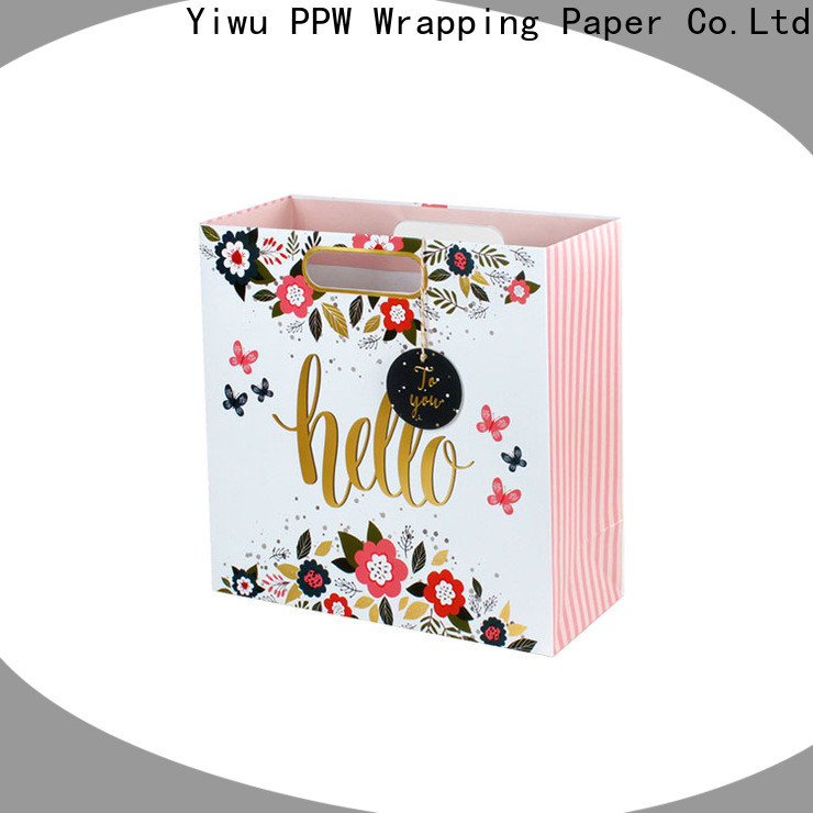 PPW personalised gift bags supplier