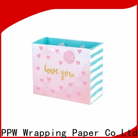 PPW hot selling custom paper bags factory price for festival