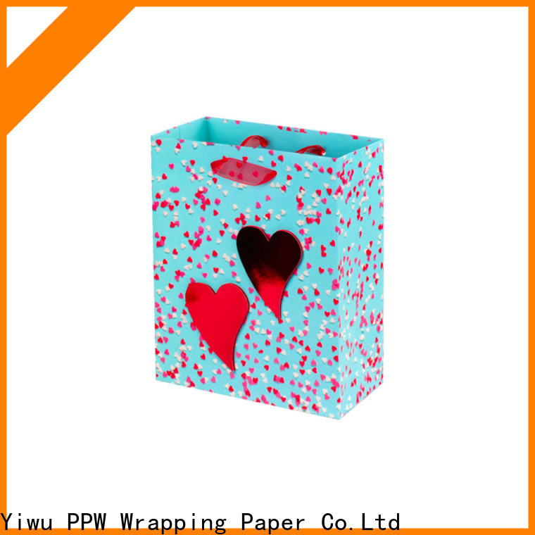 PPW popular custom gift bags personalized for advertising