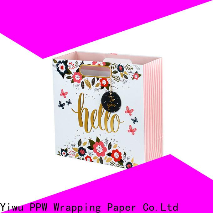 custom paper gift bags wholesale for festival