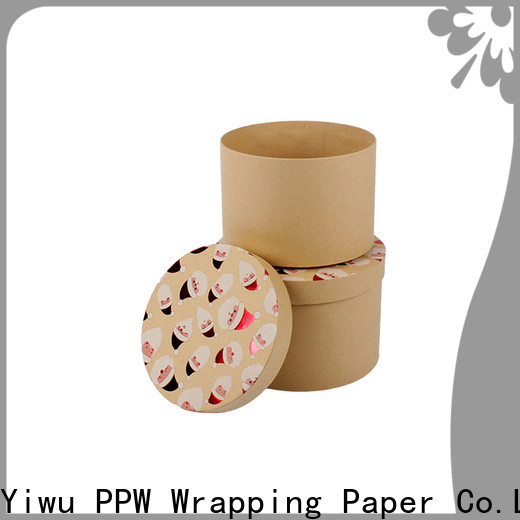 PPW eco-friendly custom packaging boxes supplier for festival